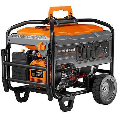 Generac Xc8000e - 8000 Watt Electric Start Professional Portable Generator C...