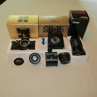 NIKON FM2 35 mm SLR FILM CAMERA & ACCESSORIES