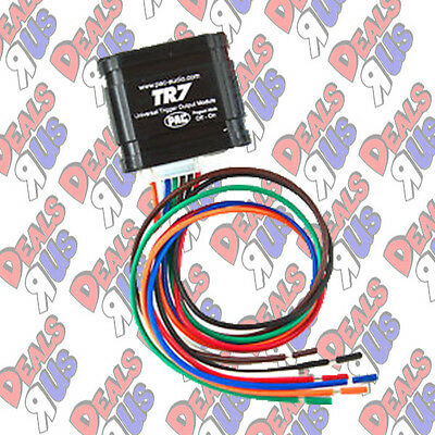 PAC TR7 TR-7 Video Bypass & Universal Trigger Output Module for Alpine IVA-C801