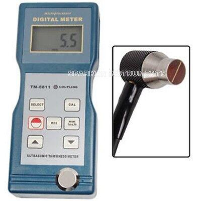 Tm-8811 Digital Ultrasonic Wall Thickness Meter Tester Testing Gauge Rs8