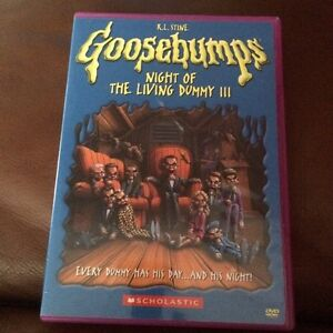 Goosebumps: Night of the Living Dummy 3 (DVD)