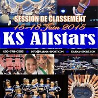 Session de classement/tryout - Equipe Competitive de Cheer