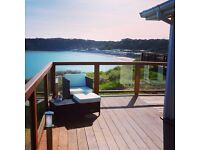 Luxury 2 bedroom lodge to rent at Lydstep Beach Haven Tenby
