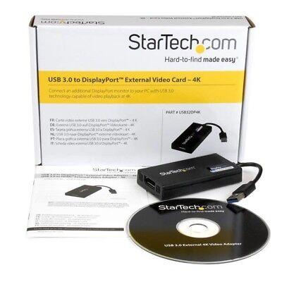 STARTECH.COM USB32DP4K 4K USB VIDEO Funny man destined USB 3.0 TO