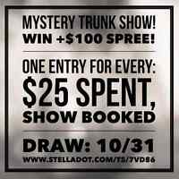 Mystery Trunk Show! WIN all the rewards!