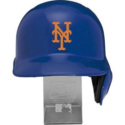 New York Mets MLB Full Size Cool Flo Batting Helmet Free Display Stand - Ny Mets Helmet