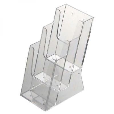 Mehrfach-Prospektspender DIN lang x3