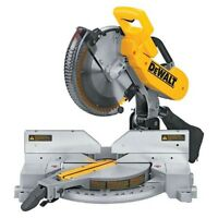 "dewalt 12"" double bevel mitre saw"