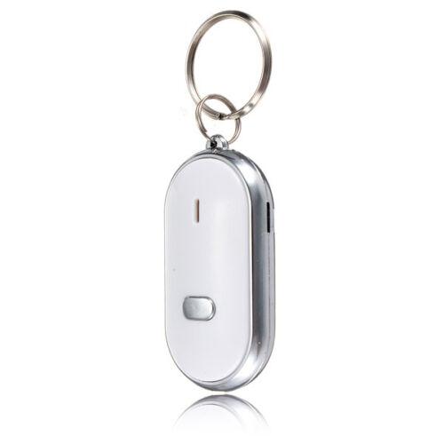 Neu LED Key Finder SchlüelanhänrLocator Sound Control Whistle Weiß Hot Sale Nett