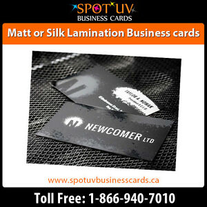 Best Deals On 250 Matte Business Cards $195.00 - Fast Shipping London Ontario image 1
