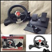-Intec Wireless Racing Wheel PS3 G7896 - 60$
