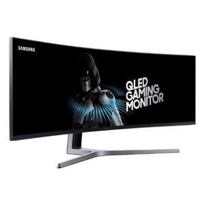 "Samsung LC49HG90DMNXZA 49"" VA Curved Ultra Widescreen QLED"