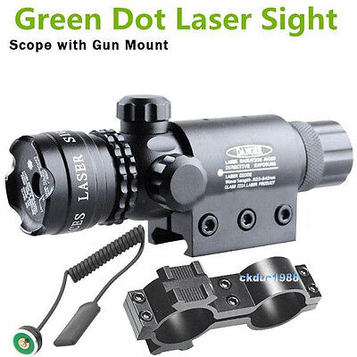 Green laser sight outside adjust For rifle gun scope remote switch 2 mount #26