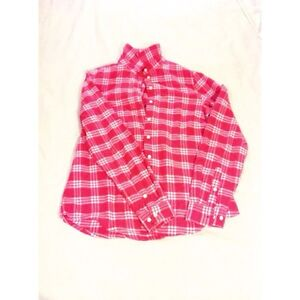 Pink flannel top Campbell River Comox Valley Area image 3
