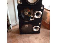 Speakers x4 2jbl 2 xl series