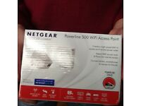 Netgear Powerline 500 Wifi Access Point