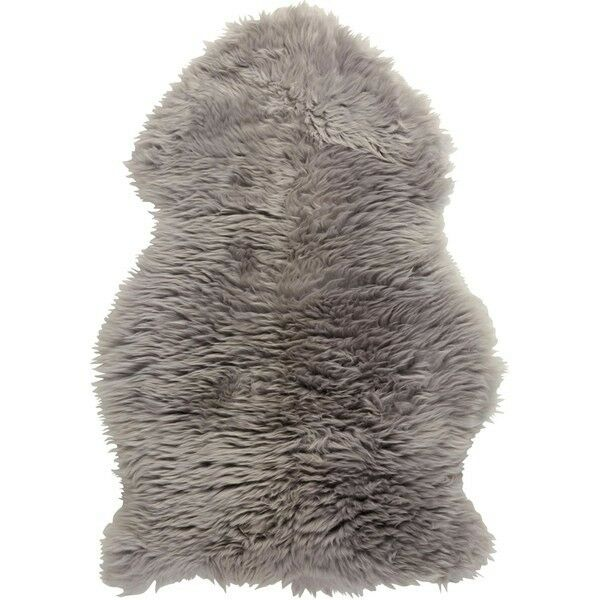 Royal Dream Sheepskin Rug - Grey