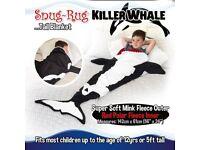 Killer whale thermal fleece