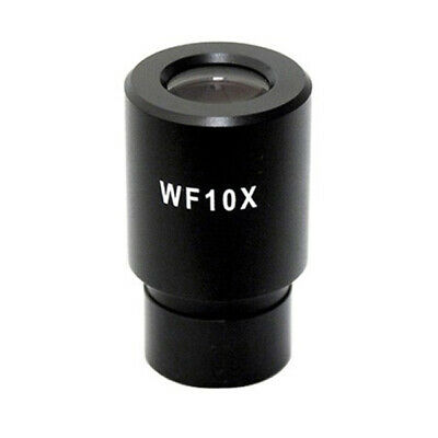 Amscope Ep10x23r Wf10x Microscope Eyepiece With Reticle 23mm