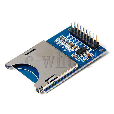 1pc Sd Card Module Slot Socket Reader Read And Write For Arduino Arm Mcu A855 Tw
