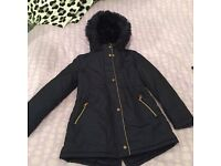 Girls ted baker coat , age 12