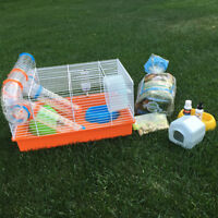 New Hamster Cage & Supplies