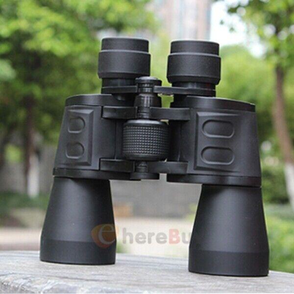 180x100 High Power Military Binoculars Day/Night BAK4 Optics Hunting Camping+Bag