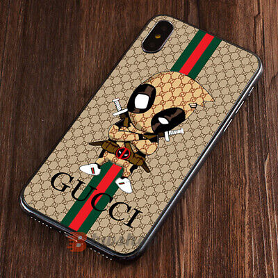 Case iPhone 6 X XR XS Guccy48xCases 11 Pro Max Samsung Galaxy/Note10 S20Deadpool