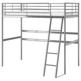 IKEA Svarta loft/bunk bed with desk - like new condition!