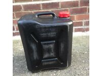 Caravan waste water container