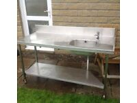 Stainless Steel table Workbench