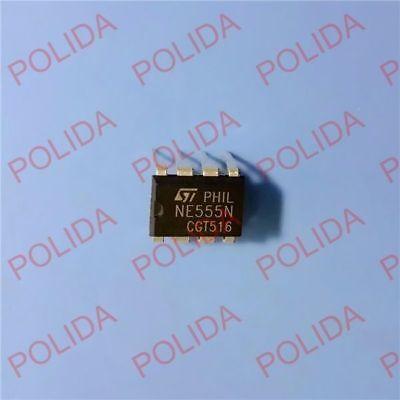 10pcs Timers Ic St Dip-8 Ne555n