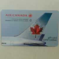 """""""AIR CANADA GIFT CARD FOR SALE"""""""