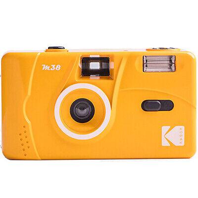 Kodak M38 35mm Reusable Non-Disposable  Vintage Retro Film Camera (Yellow)