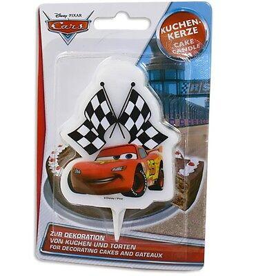 Tortenkerze f.Cars Kindertorte,Geburtstagstorten Dekoration Mottoparty Rennautos ()