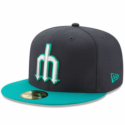 Seattle Mariners Alternate New Era Diamond Era 5950 Fitted Cap Hat Authentic New