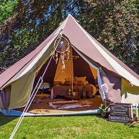 5m Cookies & Cream Bell Tent