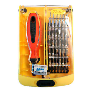 jackly 37 in 1 precision screwdriver bit set ebay. Black Bedroom Furniture Sets. Home Design Ideas