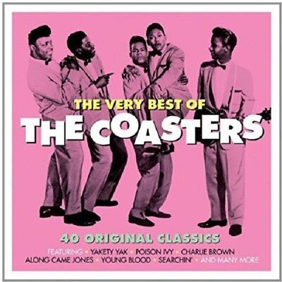 The Coasters Very Best Of 2-CD NEW SEALED Poison Ivy/Yakety Yak/Charlie