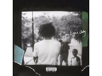 J. COLE 4 YOUR EYEZ ONLY LONDON TOUR SHOW THE o2 15th OCTOBER 2017 2 x STANDING TICKETS