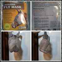fly mask LARGE PONY