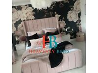 !!! REMARKABLE SALE !!! ON BRAND NEW ROYAL WINGBACK BEDS