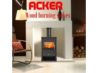 wood burning multi fuel stove NEW