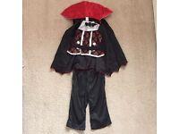 Boys vampire Halloween costume 18-24 months
