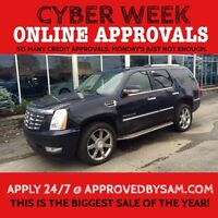 "CADILLAC ESCALADE - TEXT ""AUTO LOAN"" TO 519 567 3020"
