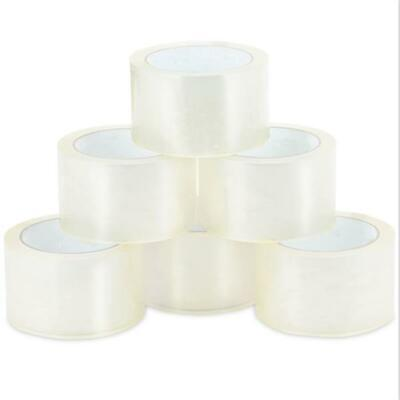 18 Rolls of 1.9-inch x 110 Yards Clear Tape - Packing Tape 2-Mil Thickness W