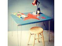 Unique industrial desk/table