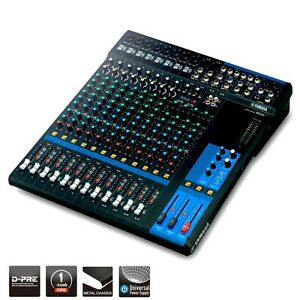 Yamaha MG16 16-Channel Mixing Console Live Studio Analog Mixer MG Series