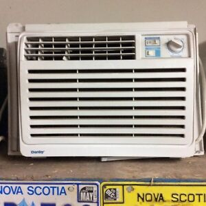 Three air conditioners.