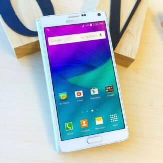Pre owned Samsung Galaxy Note 4 white 32G UNLOCKED Calamvale Brisbane South West Preview